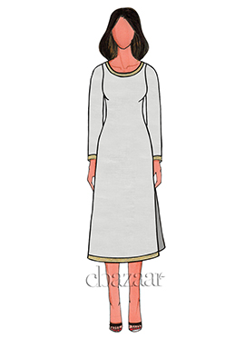 White Cotton Kurti