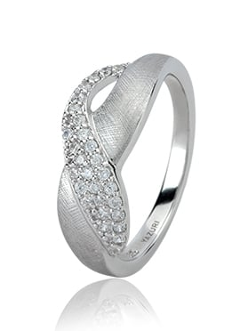 Yazuri Stylish Curve Ring