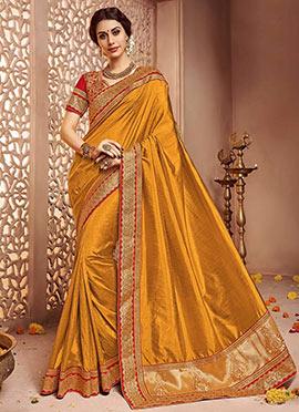 Yellow Art Sanchi Silk Saree