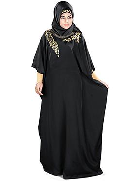Aarifah Black Crepe Fustan