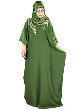 Aarifah Henna Green Fustan