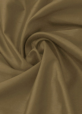 Antique Gold Taffeta Silk Fabric