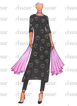 Anushka Sharma ADHM Black Straight Pant Suit