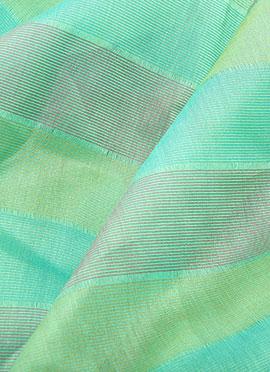 Aqua Green Dupion Silk Fabric
