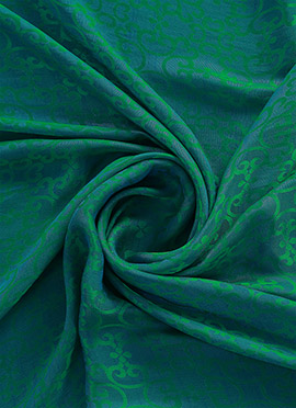 Aqua Green Makhmali Satin Fabric