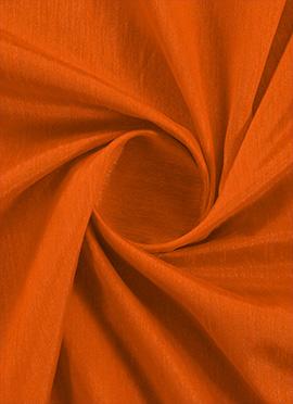 Autumn Maple Raw Silk Fabric