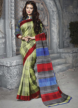 Ayesha Takia Art Silk Saree