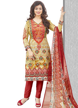 Ayesha Takia Printed Cambric Cotton Straight Pant Suit