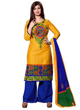 Ayesha Takia Yellow Palazzo Suit