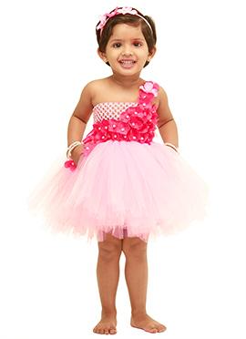 Baby Pink Kids Tutu Dress