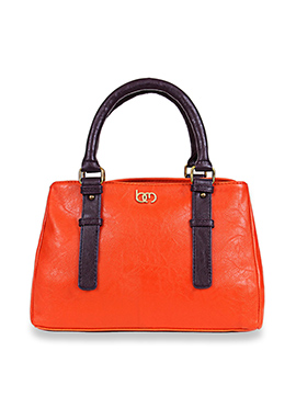 Bagsy Malone Orange Hand Bag