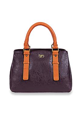 Bagsy Malone Purple Hand Bag