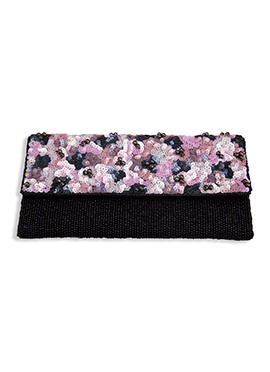 Beads N Sequins Embellished Stylish Clutch