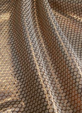 Beige Art Silk Fabric