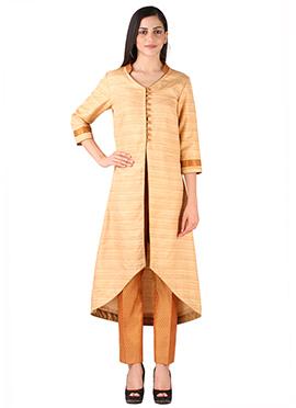 Studiorasa Beige Bhagalpuri Suits