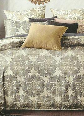 Beige Cotton Bed Sheet