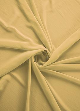 Beige Georgette Fabric