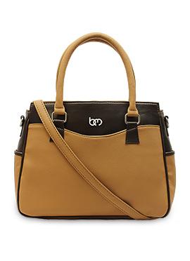 Beige N Brown Bagsy Malone Hand Bag