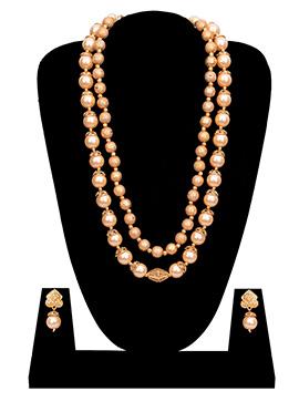 Beige Necklace Set