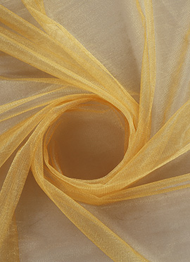Gold Net Fabric