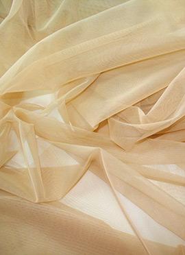 Beige Net Fabric