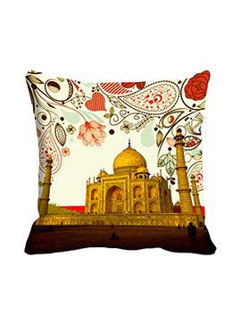 Beige Taj Cushion Cover