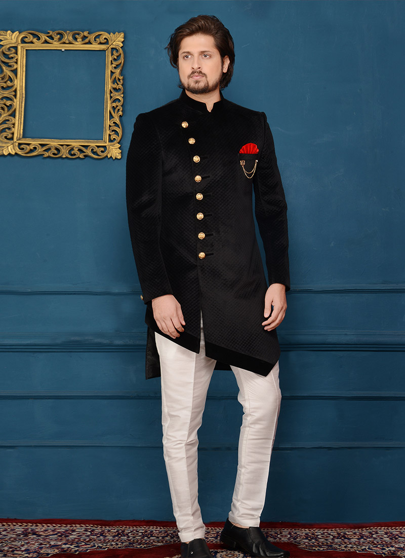 Image result for indo western sherwani