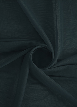 Black Beauty Net Fabric