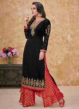 604b9b31ee Sharara: Buy Salwar Kameez Sharara Suit | Online Wedding Sharara ...