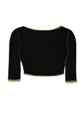 Black Georgette Blouse