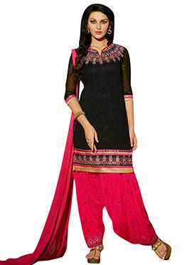 Black Georgette Salwar Suit