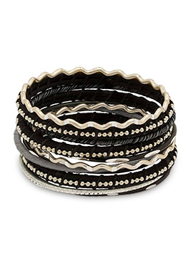 Black Thread Bangles
