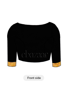 Black Traditional Blouse