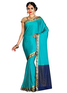 Blue Art Mysore Silk Saree