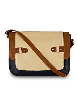 Blue N Beige Bagsy Malone Sling Bag