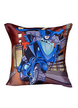Blue N Grey Warner Brother Batman Cushion Cover
