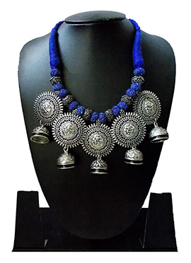 Blue N Silver Necklace