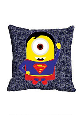 Blue Super Minion Cushion Cover
