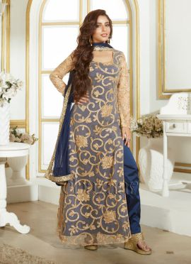Bollywood Vogue kameez With Straight Pant