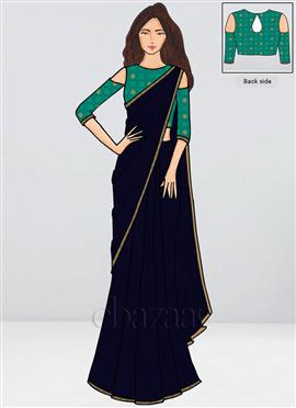 008e95e36d Buy Latest Bollywood Vogue Sarees Online At Cbazaar