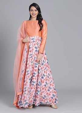 Buy Ethnovogue Indo western Dresses and Gowns For Women in Plus Size