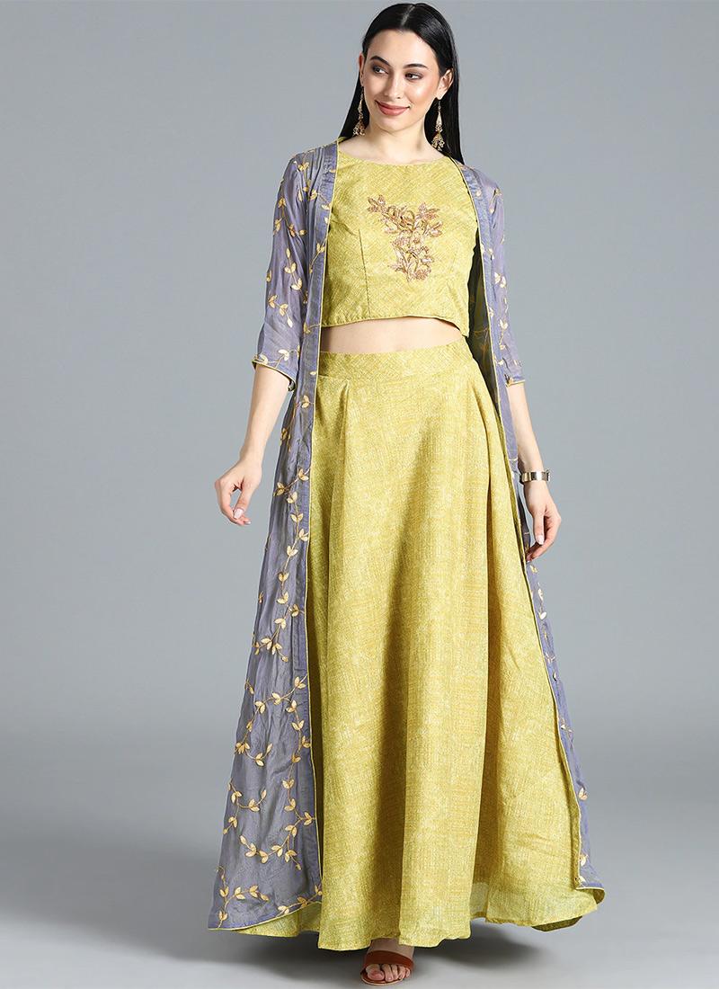 b24b823543 Buy Bollywood Vogue Customised Crop Top N Skirt, Wedding ...