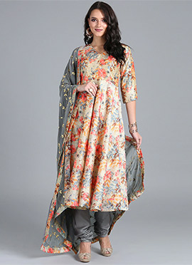 d689fec26d6fb Buy Anarkali Chiffon Salwar Kameez Online - Shop Latest Indian ...