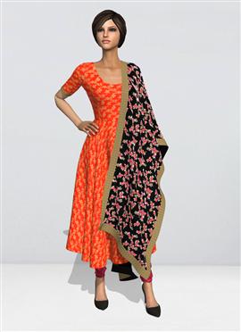 9633fe3a3 Anarkali Suit Velvet Women Anarkali Suit