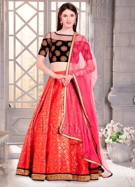 Bollywood Vogue Embroidered Choli Lehenga Set