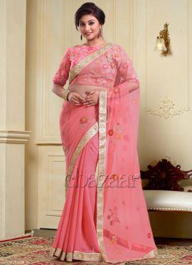 Bollywood Vogue Embroidered Sari
