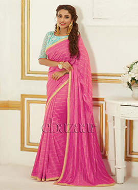 Bollywood Vogue Embroidery Blouse N Saree