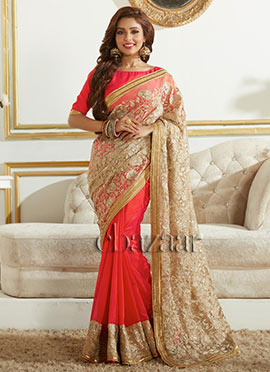 Bollywood Vogue Half N Half Saree