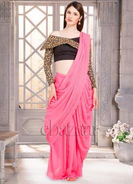 Bollywood Vogue Indowestern Saree