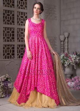 Bollywood Vogue Long Choli Lengha set